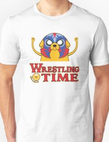 Wrestling Time Unisex T-Shirt