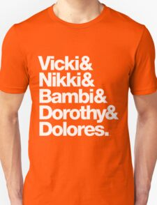 Darling Nikki and Other Muse's in Prince Music Unisex T-Shirt
