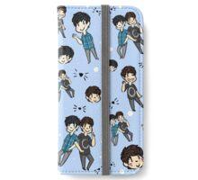Dan & Phil Collage - Blue iPhone Wallet/Case/Skin