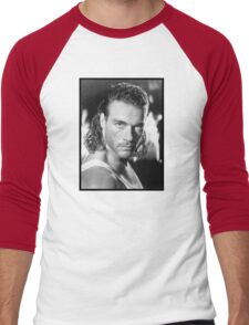 Jean Claude Van Damme Men's Baseball ¾ T-Shirt