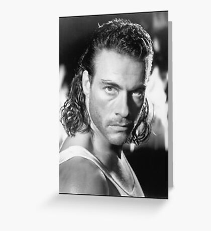 Jean Claude Van Damme Greeting Card