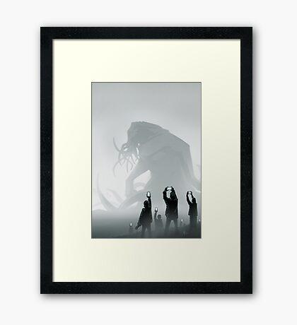 The End lol Framed Print