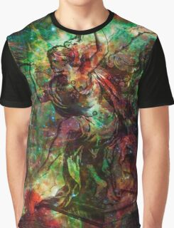 When The Stars Are Right - The Heart and Soul Nebulae in Cassiopeia Graphic T-Shirt