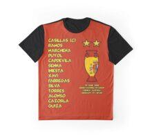 Spain 2008 Euro Winners Graphic T-Shirt