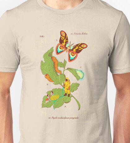 Papilio Insulaeinfanum praegrandis (モスラ) Unisex T-Shirt