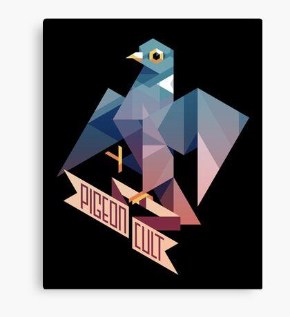 Pigeon Cult Canvas Print