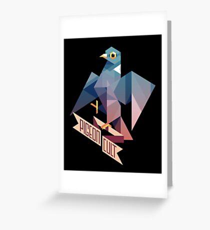 Pigeon Cult Greeting Card
