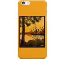 Bayou Sunset by Leslie Berg iPhone Case/Skin