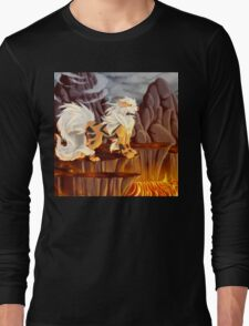Arcanine's Volcanic Domain Long Sleeve T-Shirt