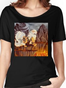 Arcanine's Volcanic Domain Women's Relaxed Fit T-Shirt