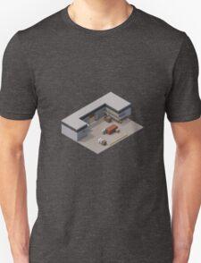 Isometric de_cache Unisex T-Shirt