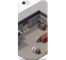 Isometric de_cache iPhone Case/Skin