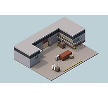 Isometric de_cache Photographic Print