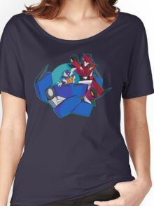 Animated Style Knock Out and Breakdown Women's Relaxed Fit T-Shirt