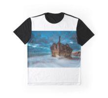 Maheno Wreck. Graphic T-Shirt