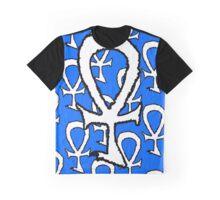 Urban Ankh White Graphic T-Shirt
