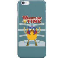 Wrestling time 2 iPhone Case/Skin