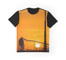 Sun Down Over Rrfinery Graphic T-Shirt