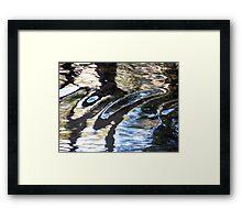 Forerunner Waves Framed Print