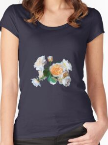 English roses Women's Fitted Scoop T-Shirt