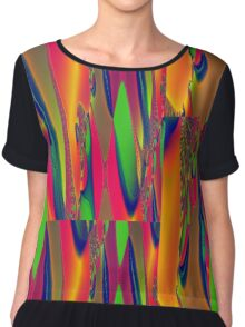 Psychedelic Tapestry Chiffon Top