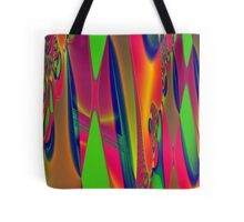 Psychedelic Tapestry Tote Bag