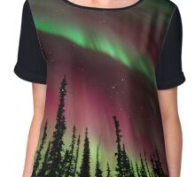 Magic Aurora Night II Chiffon Top