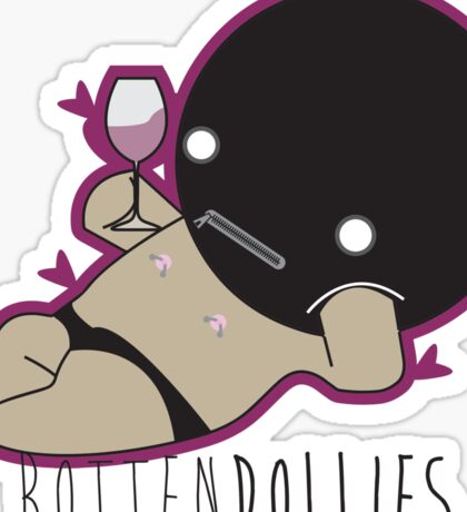 Rotten Dollies - Lounging Gimp Sticker