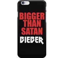 Bigger Than Satan iPhone Case/Skin