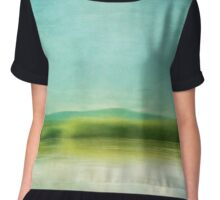 The green haze Chiffon Top