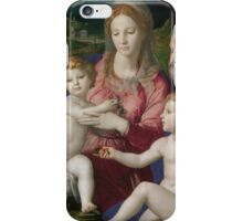 Agnolo Bronzino - Holy Family with St. Anne and the Infant St. John 1545 - 1546 iPhone Case/Skin