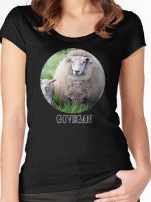 Go Vegan Women's Fitted Scoop T-Shirt
