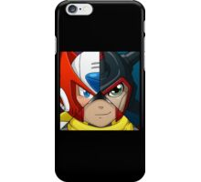 Zero, Proto Man and Atlas iPhone Case/Skin