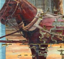 Mule Mural Sticker