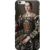 Agnolo Bronzino - Eleonora of Toledo and Her Son 1545 - 1550 iPhone Case/Skin