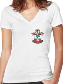Southampton Badge - BPL Women's Fitted V-Neck T-Shirt