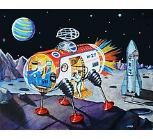 MOON EXPLORER Photographic Print