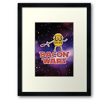 Bacon wars - Jake Framed Print