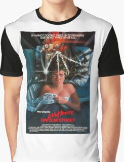 A Nightmare On Elm Street - Original Poster 1984 Graphic T-Shirt