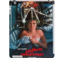 A Nightmare On Elm Street - Original Poster 1984 iPad Case/Skin