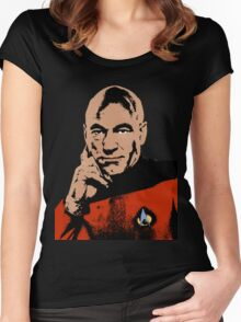 Picard Women's Fitted Scoop T-Shirt