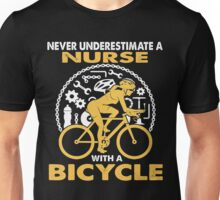 BICYCLE OLD WOMAN Unisex T-Shirt