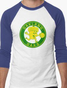 DEFUNCT - OAKLAND OAKS Men's Baseball ¾ T-Shirt