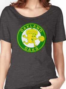 DEFUNCT - OAKLAND OAKS Women's Relaxed Fit T-Shirt
