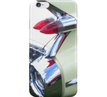 Classic Car - Rear Lights iPhone Case/Skin