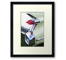 Classic Car - Rear Lights Framed Print