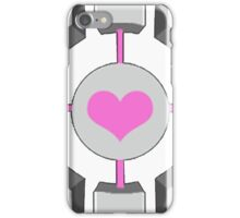 Portal - Companion Cube iPhone Case/Skin