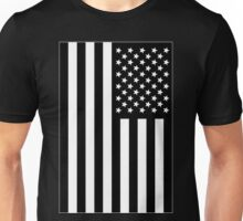 US Flag B&W Unisex T-Shirt