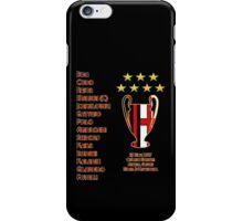 AC Milan 2007 Champions League Final Winners iPhone Case/Skin