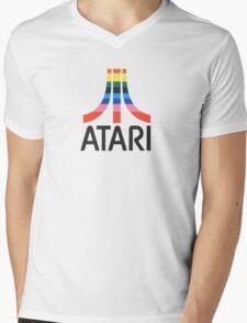 ATARI Video Computer Systems Mens V-Neck T-Shirt